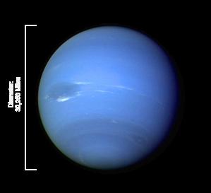 Neptuno, el gigante azul.